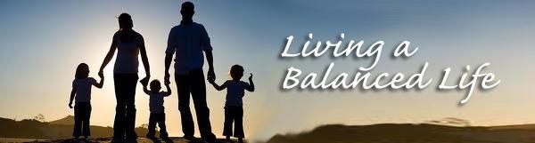 Living a Balanced Life.